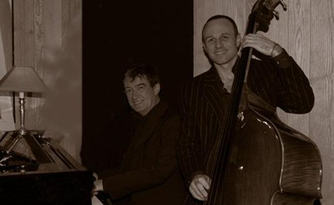 duo jazz : piano contrebasse