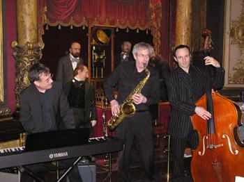 Trio jazz instrumental
